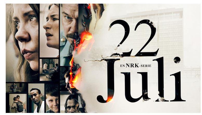 """Promotering av tv-serien """"22. juli"""""""
